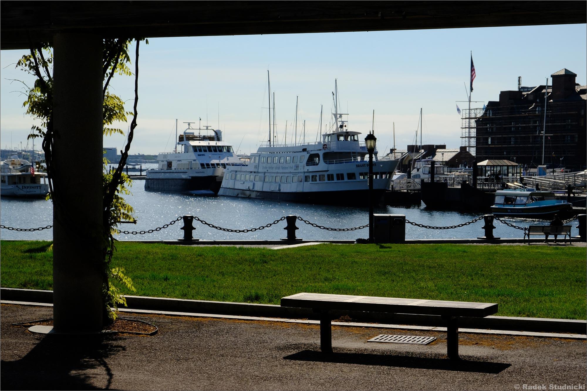 Port w Bostonie