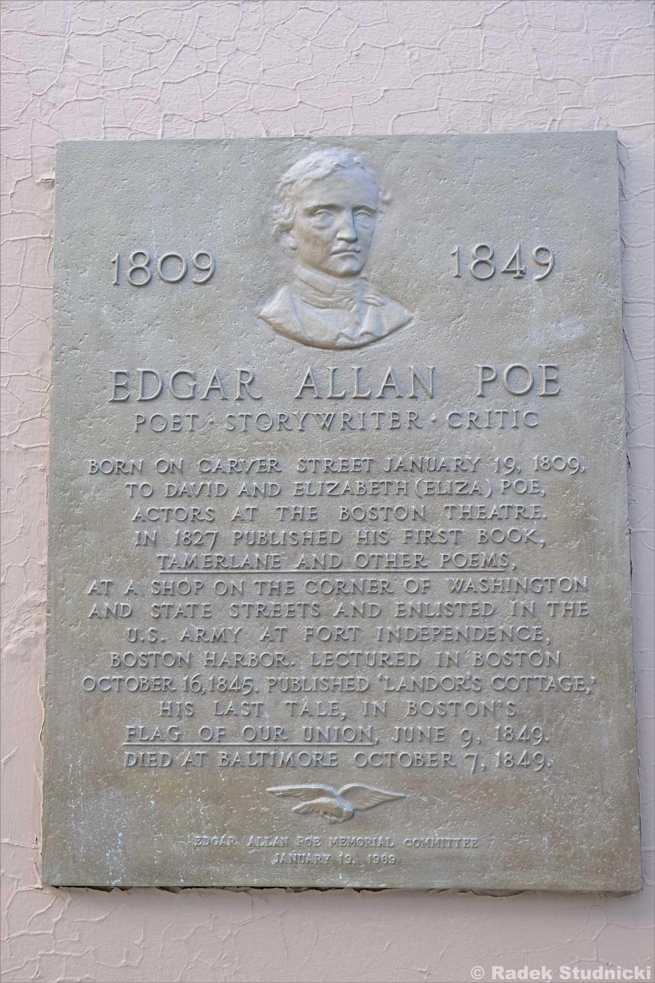 Dom urodzenia Edgara Allana Poe