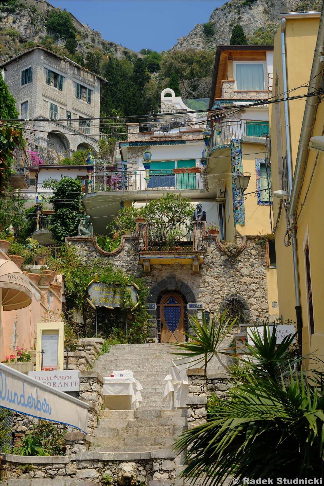 Kamienice Taorminy