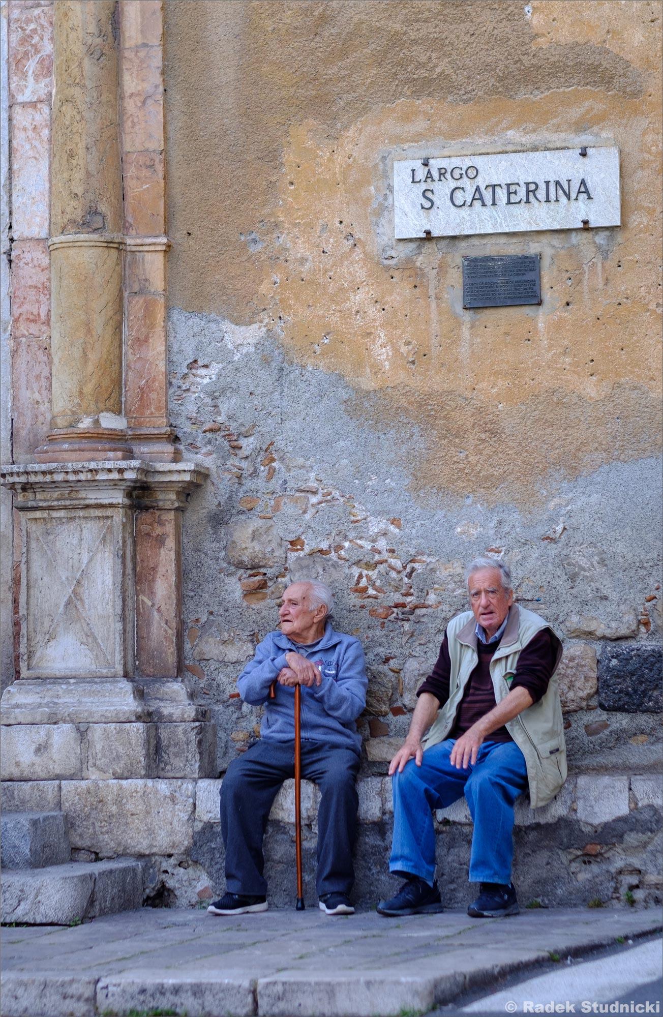 Mieszkańcy Taorminy