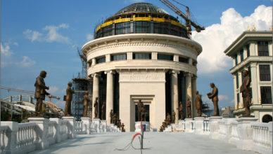 Budowa Skopje