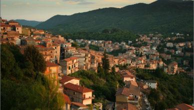 Włoskie miasteczko Segni