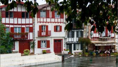 Ainhoa najpiękniejsza wioska Francji