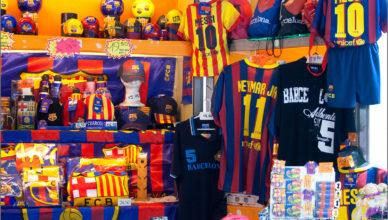 FC Barcelona pamiątki