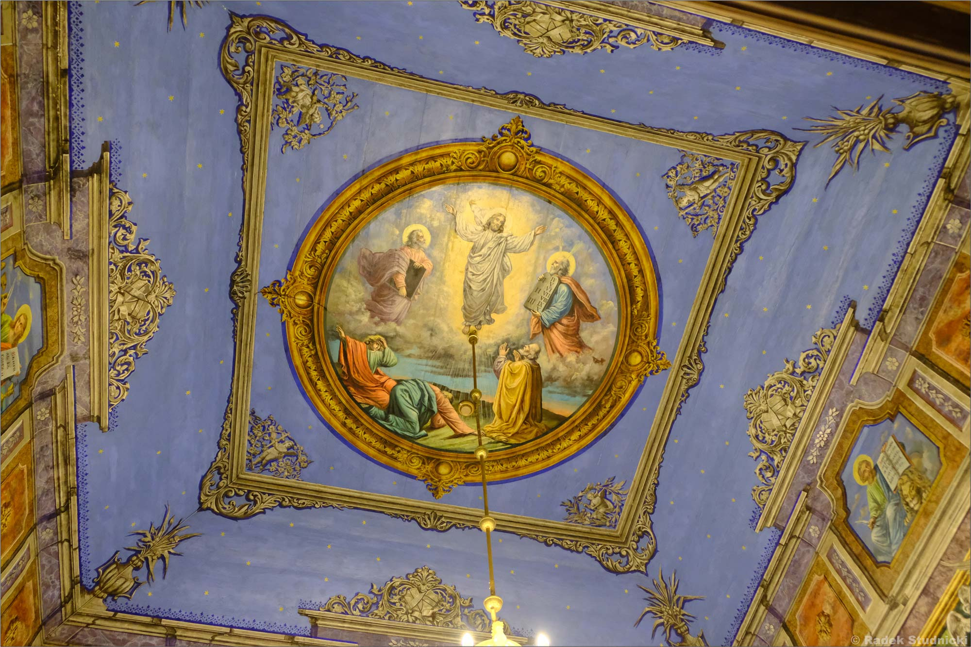 Sufit Cerkiew św. Paraskewy w Kwiatoniu