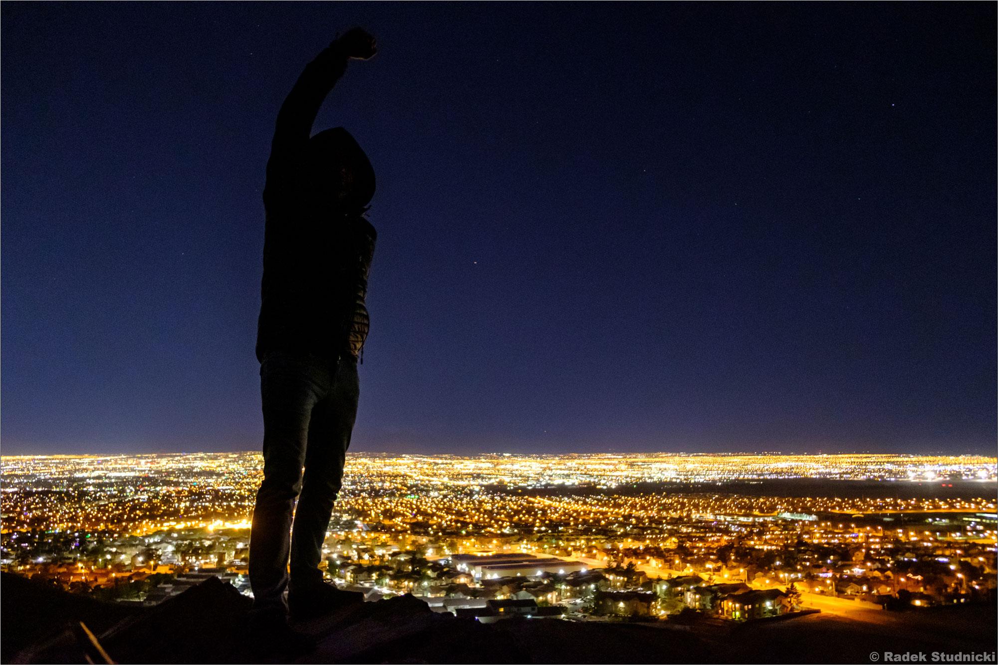 Las Vegas nocą