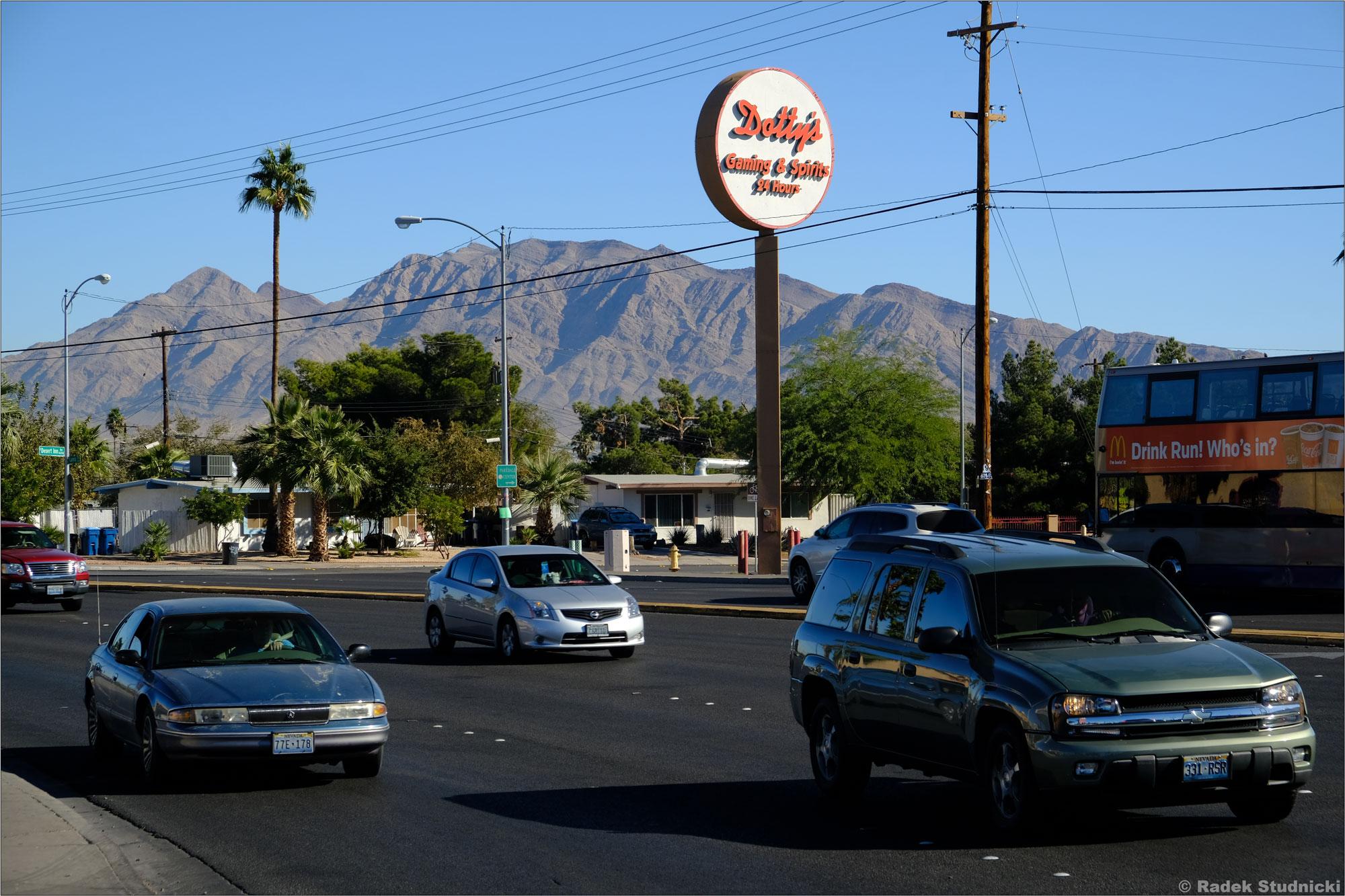 Las Vegas leży w otoczeniu natury