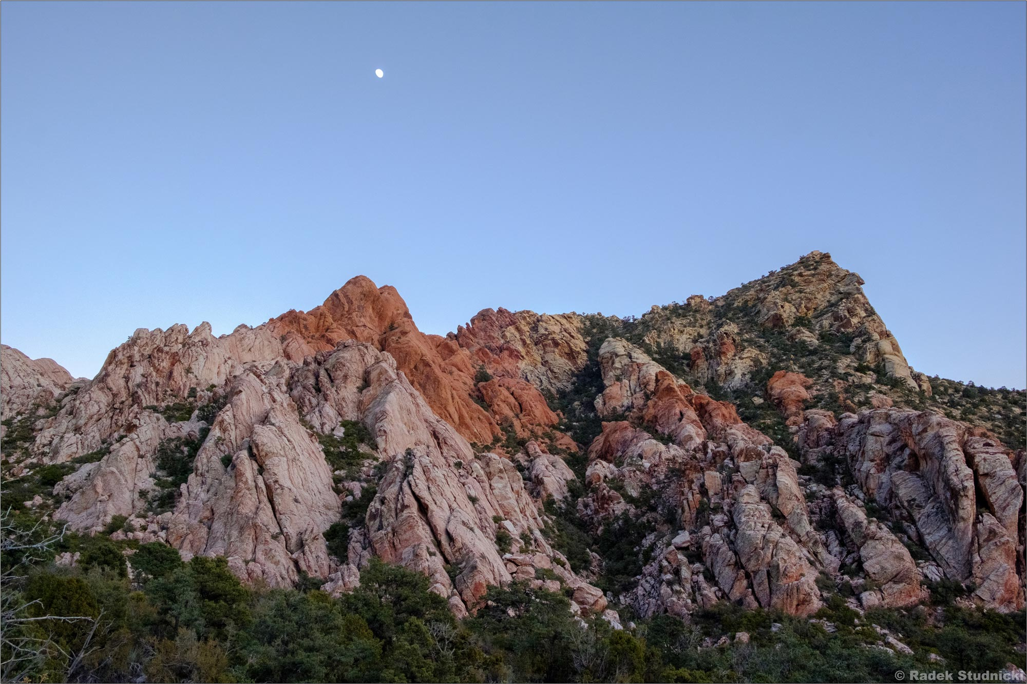 Red Rock Canyon nocą