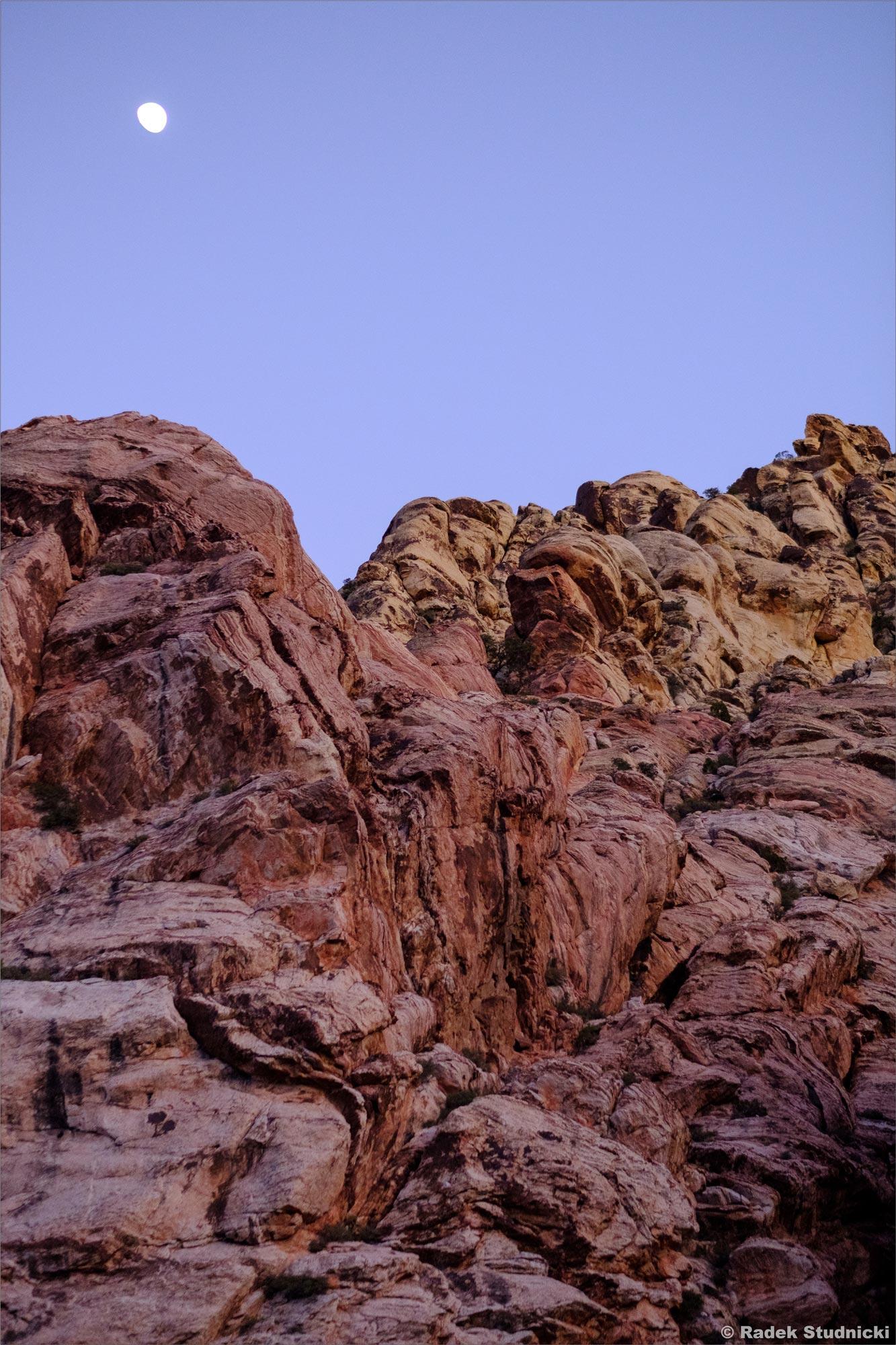 Noc zapada w Red Rock