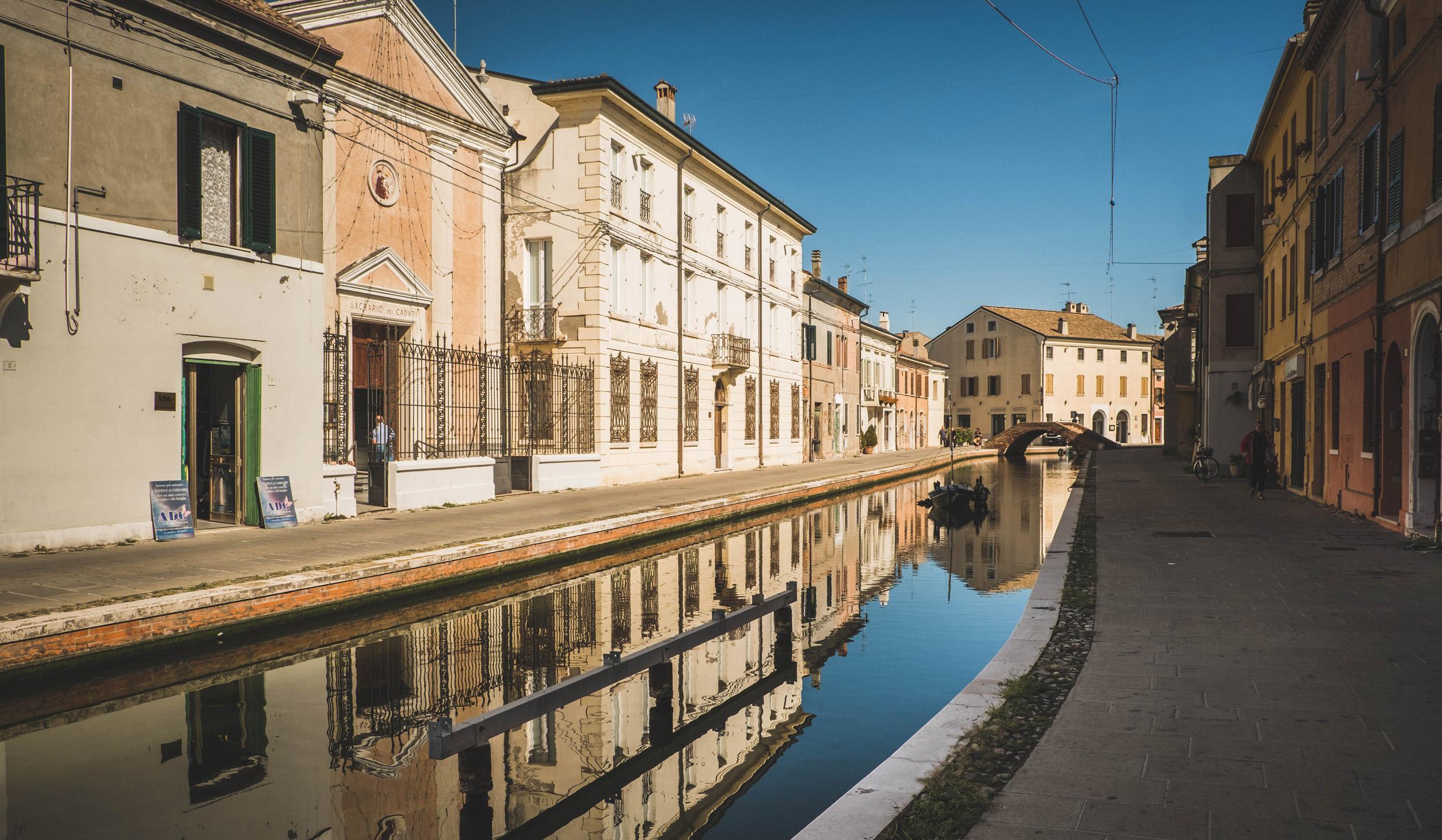 Comacchio - Mała Wenecja
