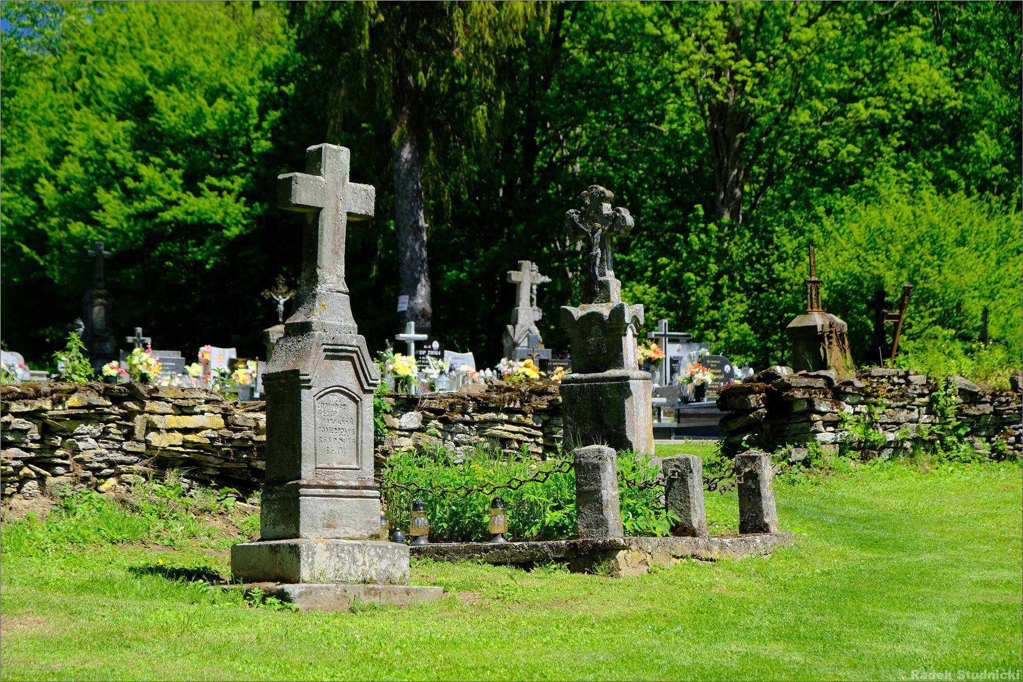 Cmentarz przy cerkwi św.Mikołaja