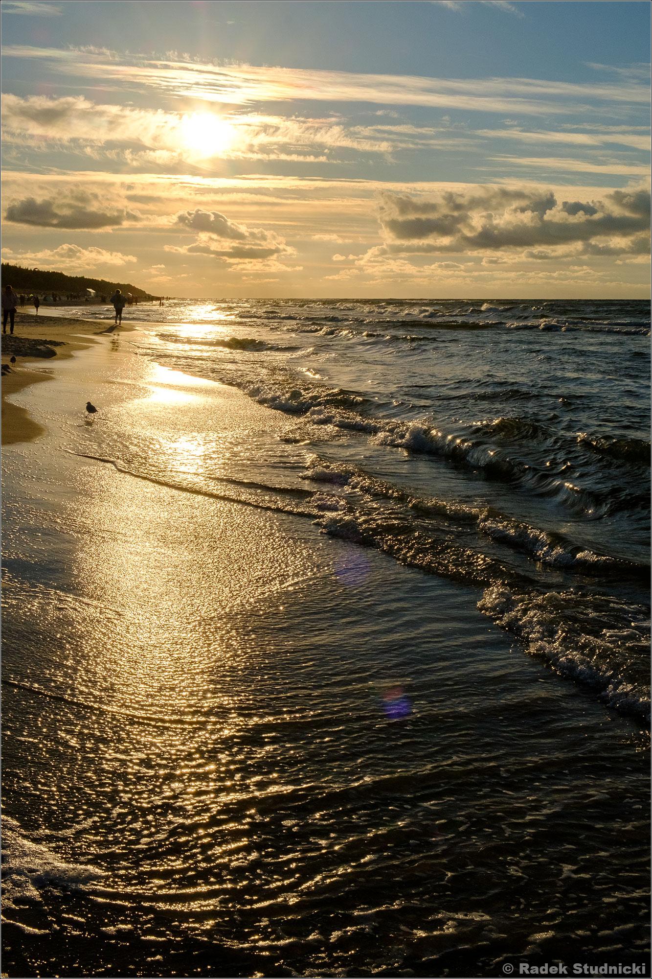 Słońce nad Bałtykiem