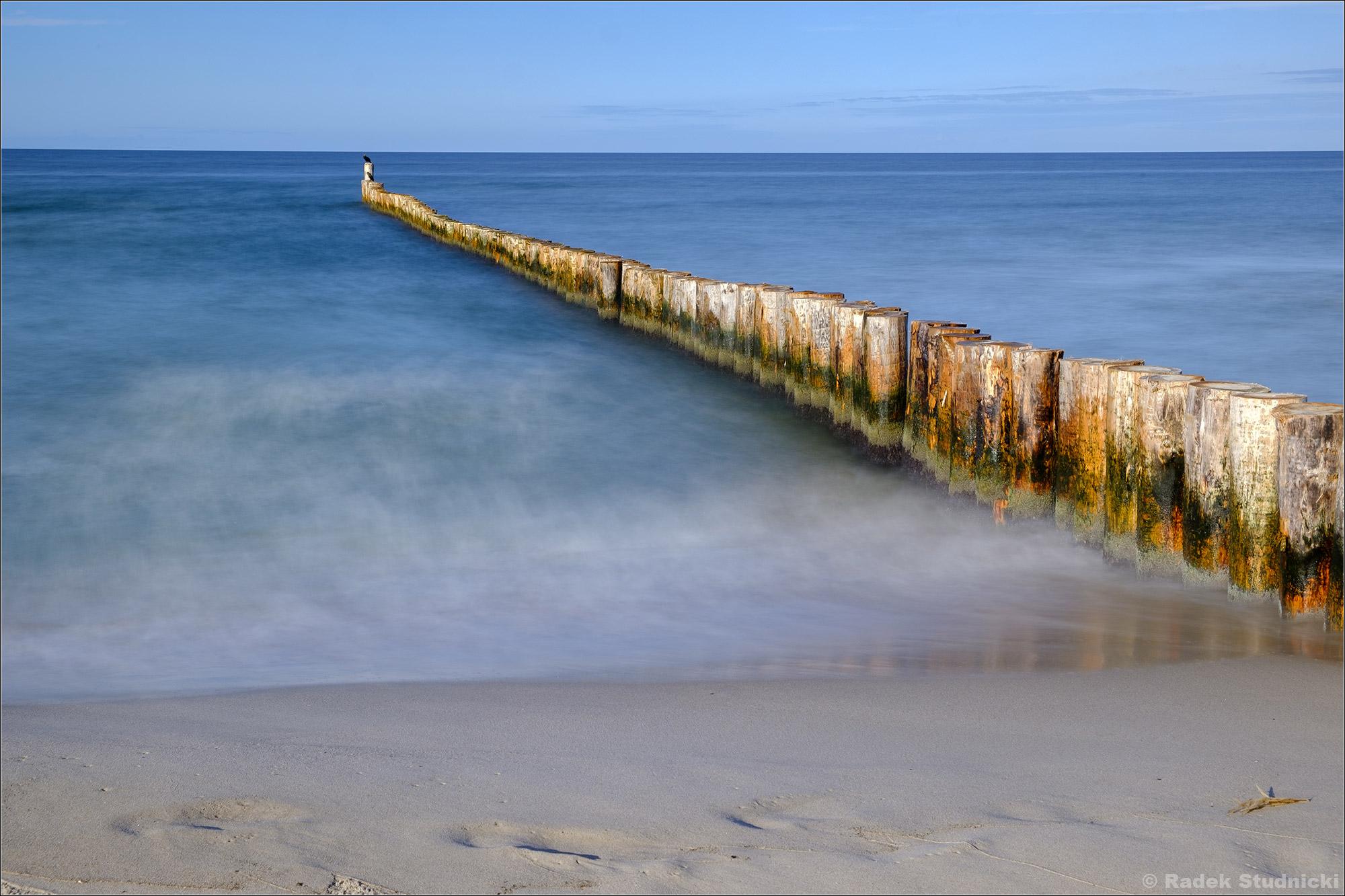 Morze Bałtyckie, falochron