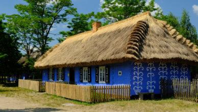 Maurzyce - Skansen koło Łowicza